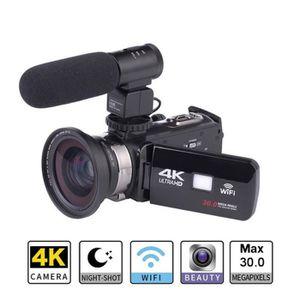 APPAREIL PHOTO RÉFLEX Appareil photo numérique HD 4K WiFi Écran tactile