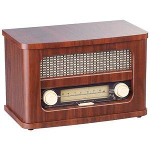RADIO CD CASSETTE Radio FM rétro nomade avec bluetooth MPS-570