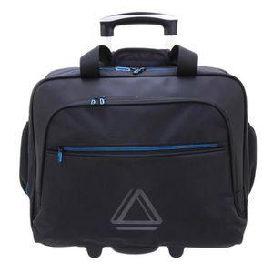 VALISE INFORMATIQUE Sac business trolley 'Davidt's' noir bleu (spécial