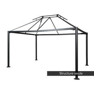 TONNELLE - BARNUM Structure en acier pour la tonnelle NAPOLI 3 x 4 m
