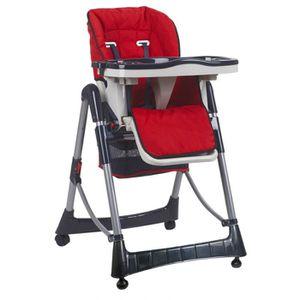 CHAISE HAUTE  Chaise haute enfant, pliable, réglable hauteur, do