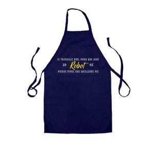 TABLIER DE CUISINE Dressdown Tablier de cuisine Je travaille dur pour