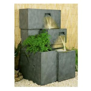 fontaine de jardin achat vente fontaine de jardin pas. Black Bedroom Furniture Sets. Home Design Ideas
