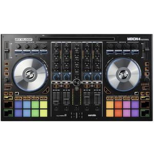 reloop mixon4 contr leur dj 4 canaux serato surface de. Black Bedroom Furniture Sets. Home Design Ideas