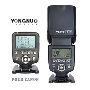 FLASH Yongnuo YN560 IV Flash + YN560-TX C sans fil Flash