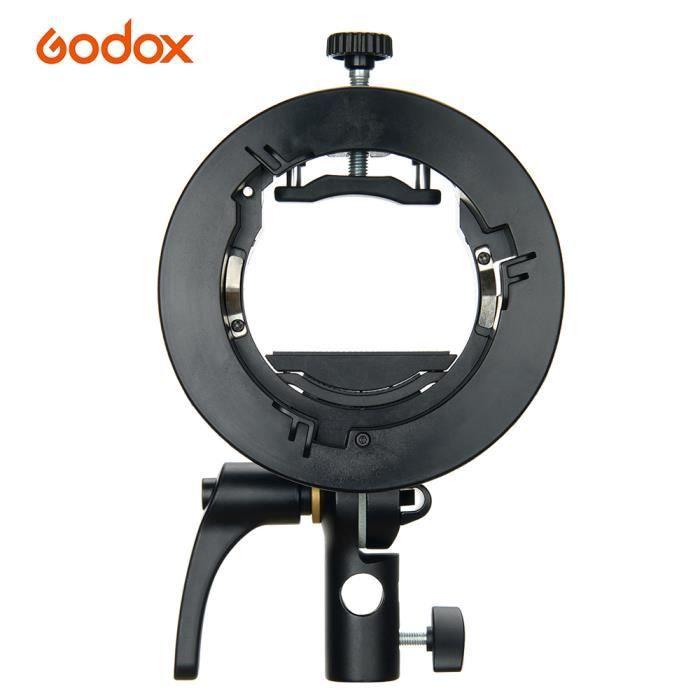 Godox S2 Support Flash de type S Support Speedlite avec support Bowens pour Godox Série V860II Série TT850 AD400Pro Série AD200Pro