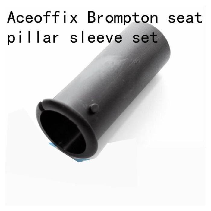 Pièce Détachée,Aceoffix pour Brompton ensemble de manchon de tige de selle 34.9 à 31.8 adaptateur de tige de selle réduisant les