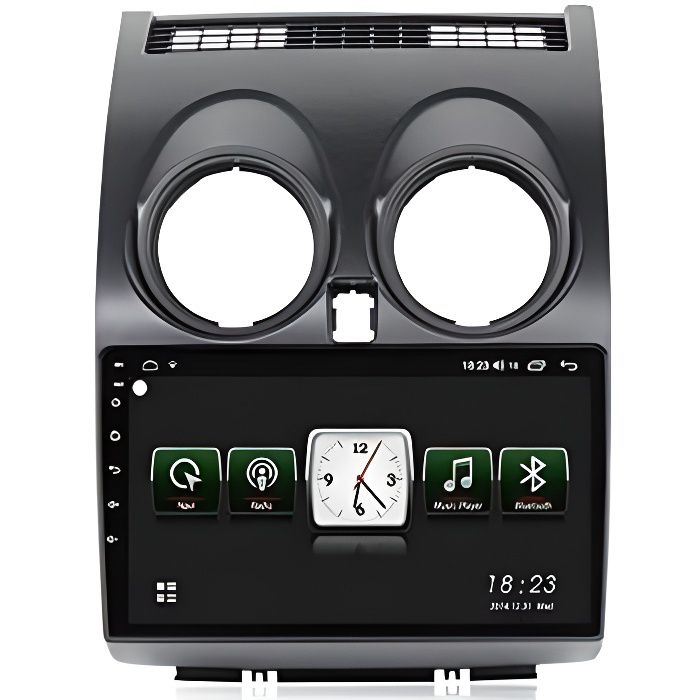 AUTORADIO ADMLZQQ 2 Din Autoradio pour Nissan Qashqai 2006-2013 Android 10 Navigation GPS Voiture &Eacutecran Tactile Command175