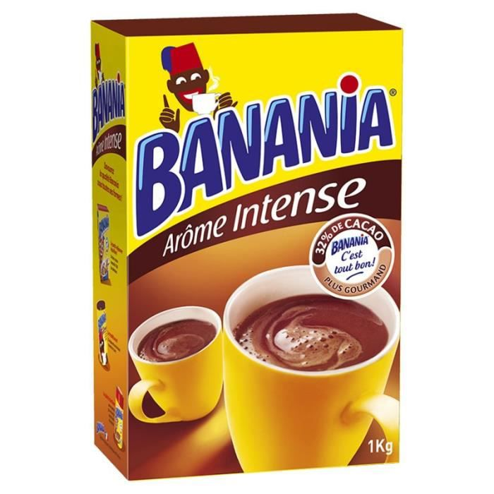 Banania - Banania Arôme Intense 1Kg