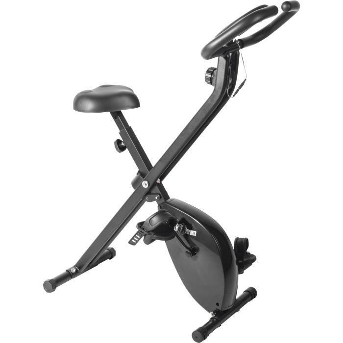 Le Vélo d´appartement X-Frame pliable Gorilla Sports Gris