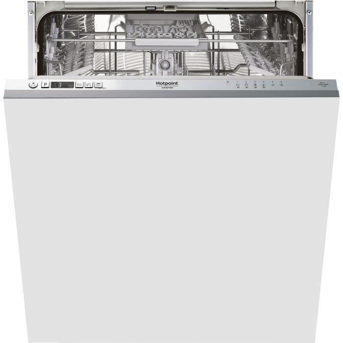 Lave-vaisselle tout intégrable HOTPOINT HI5020C - 14 couverts - Moteur induction - Largeur 60 cm - Classe A++ - 46 dB