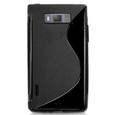 Coque LG Optimus L7 P700 Silicone Noire