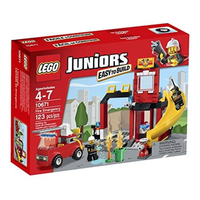 Jeu D'Assemblage LEGO FGMVK Juniors Emergency Fire 10671 Set de construction