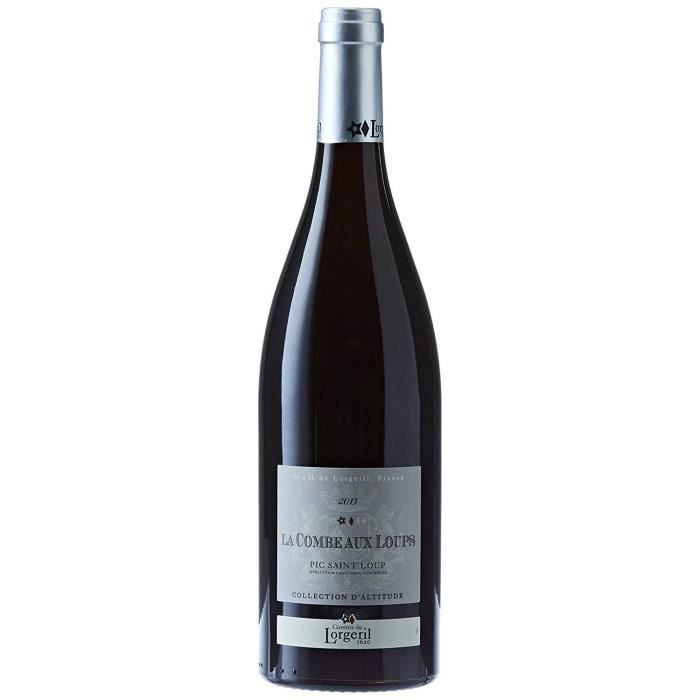 LORGERIL France Languedoc Roussillon Vin Rouge AOP la Combe aux Loups Collection d'Altitude 2015 75 cl - 729746