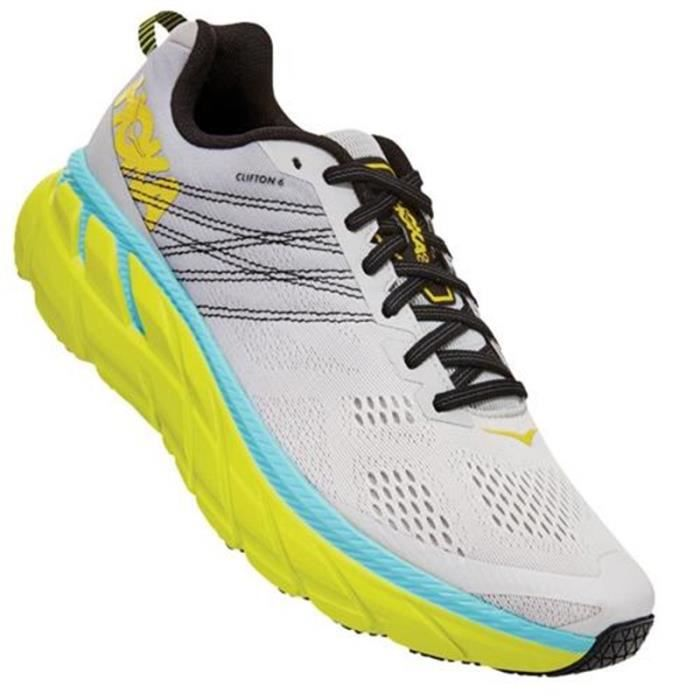 Basket running Hoka clifton 6 homme bleu - 46