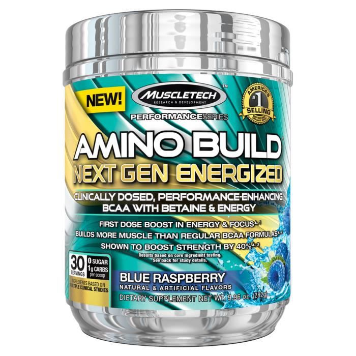 MUSCLETECH - Amino Build Next Gen Energized 30 servings - Mangue/Orange