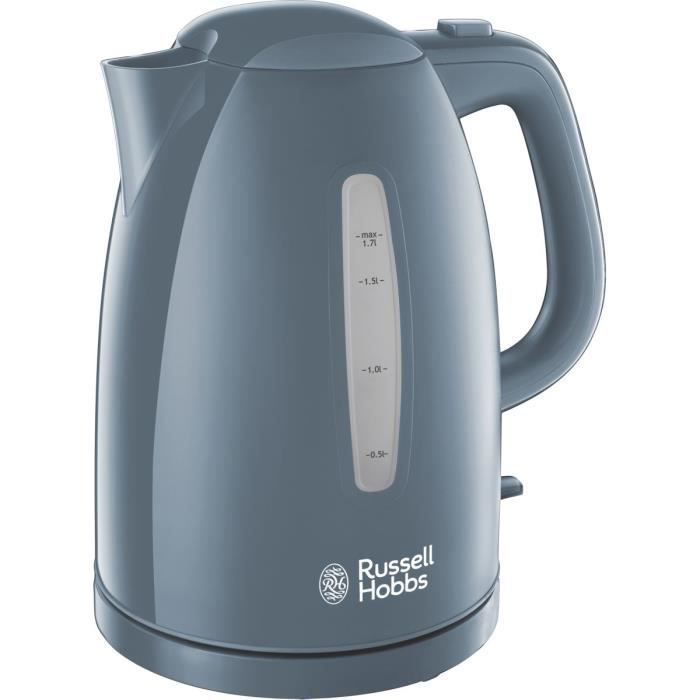Russell Hobbs 21274-70 Bouilloire 1,7L Texture, Ebullition Ultra Rapide - Gris