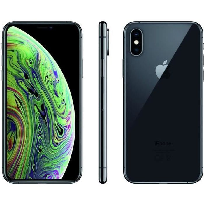 SMARTPHONE iPhone Xs 64 Go Gris Sideral Reconditionné - Comme