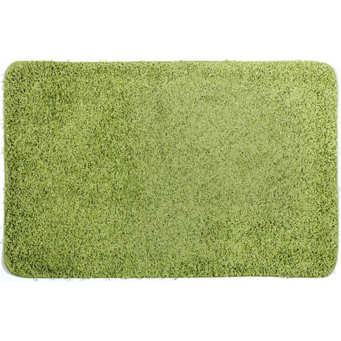 tapis de bain shaggy vert achat vente tapis de bain. Black Bedroom Furniture Sets. Home Design Ideas