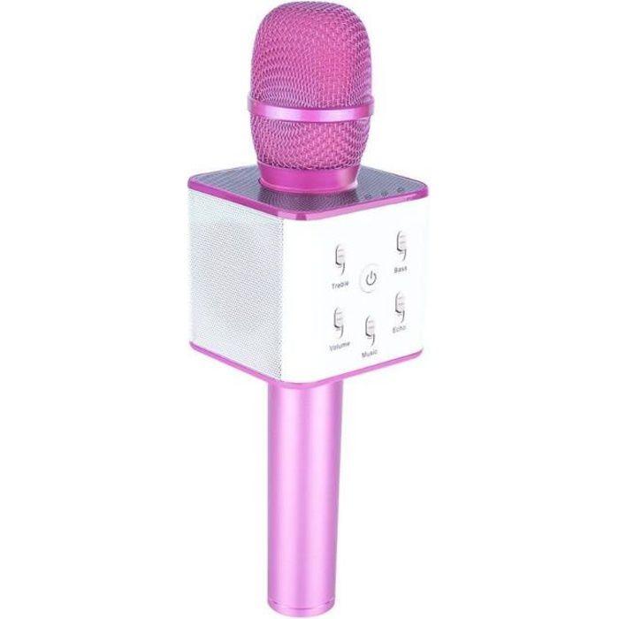 MICROPHONE - ACCESSOIRE Jooksmart Microphone Sans Fil Karaoké Bluetooth Mi