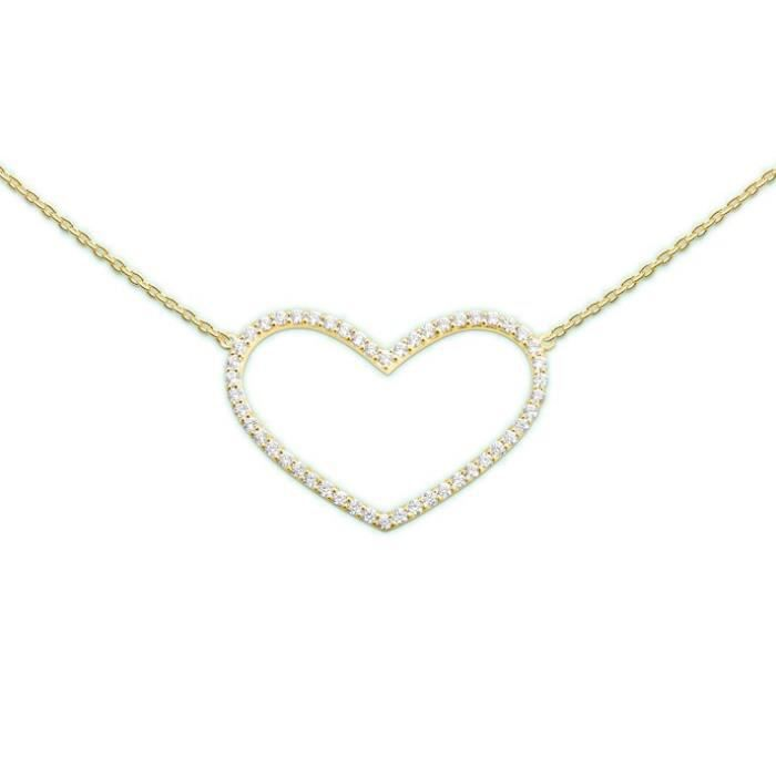 heart to get coeur à prendre n230hzs14g femmes collier thinkfrom the