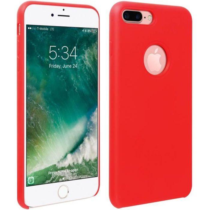 Coque iPhone 7 Plus / 8 Plus Silicone Semi-rigide