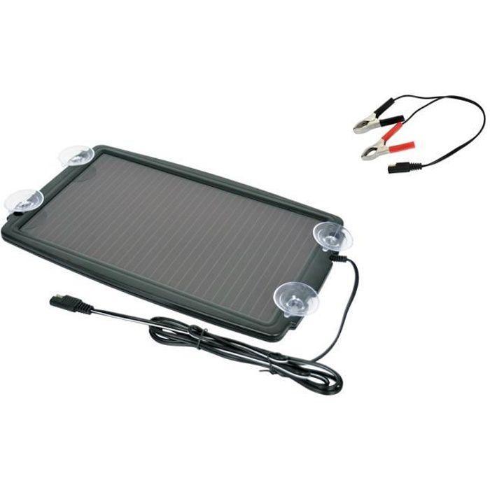 CHARGEUR DE BATTERIE Chargeur de batterie solaire voiture auto bateau c