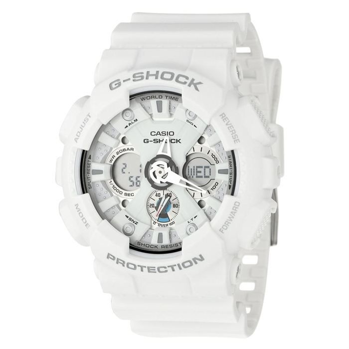 casio montre multifonction g shock blanc achat vente montre cdiscount. Black Bedroom Furniture Sets. Home Design Ideas