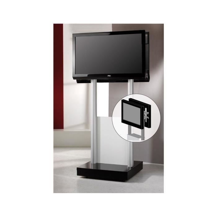 duo stand maxi pied support fixation tv led plasma cran plat vcm ce meuble tv duo stand maxi. Black Bedroom Furniture Sets. Home Design Ideas