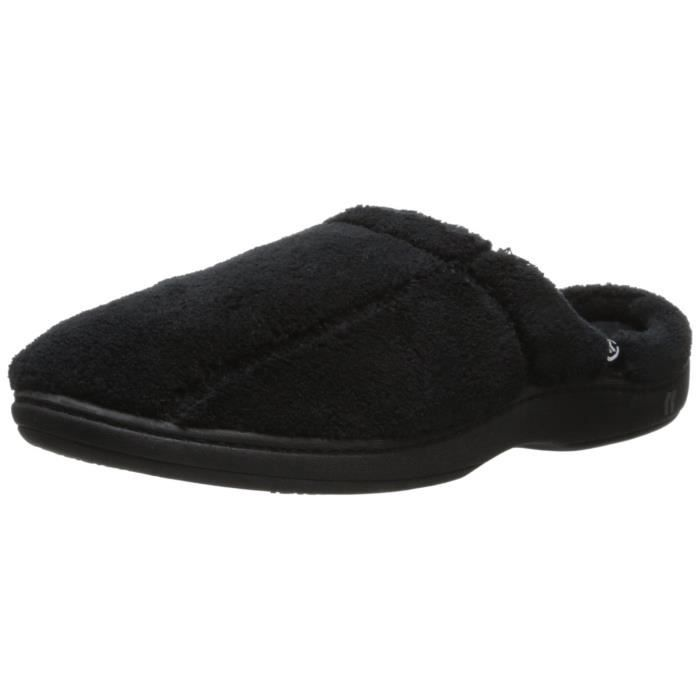 Men's Microterry Hoodback Slippers JIPP9 Taille-XL Qat21i