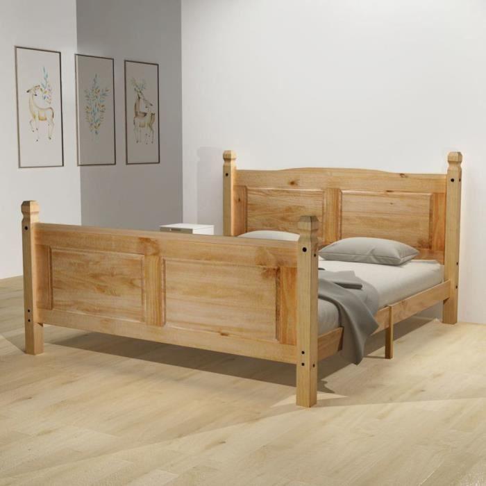 LIT COMPLET Cadre de lit Confort Contemporain adulte enfantdes