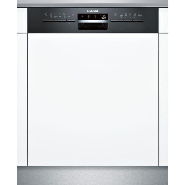 Siemens Sn536b03ne Lave Vaisselle Encastrable 14 Couverts 44 Db A L60cm Laqué