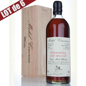 WHISKY BOURBON SCOTCH X6 Whisky Michel Couvreur Blossoming Auld Serrhied