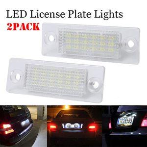 1x VW TOURAN 1T1 1T2 lumineux LED BLANC XENON PLAQUE D/'IMMATRICULATION mise à niveau Ampoule