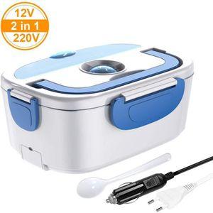 LUNCH BOX - BENTO  Xkeyus® Boîte Chauffante Repas 2 en 1 Lunch Box El