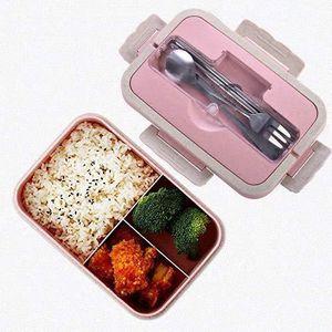 LUNCH BOX - BENTO  Boîtes Bento, Bento Box Lunch Box, blé naturel 100