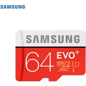 PROTECTION ESD Samsung Carte Micro SD Evo Plus - 64 Go - avec ada