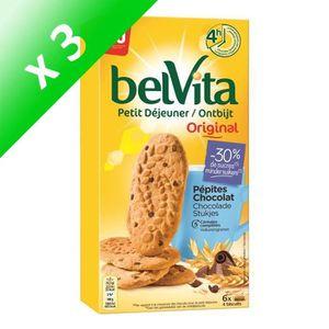 CÉRÉALES PETIT DEJ  LU Belvita Allégé Céréales et Pépites de Chocolat
