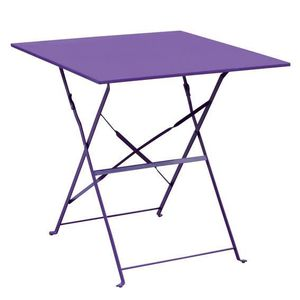 Tables chaises fauteuils violet achat vente tables for Table de bistrot pliante
