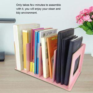 MEUBLE ÉTAGÈRE Support de rangement de livres en bois de bricolag