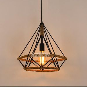 LUSTRE ET SUSPENSION EXBON Suspension Filaire 25cm Lustre Corde Cage Di