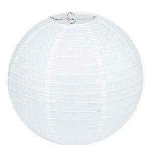 LANTERNE FANTAISIE Lampion Papier Blanc - Lot de 10 pièces, LIHAO 12