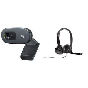 Logitech C270 Webcam HD avec Microphone Int/égr/é 960-000582