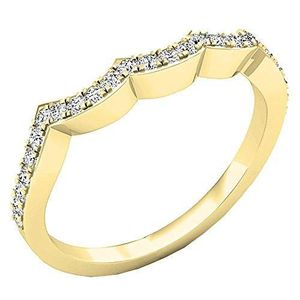 ALLIANCE - SOLITAIRE Bague Femme Diamants 0.25 ct  18 ct 750-1000 Or Ja