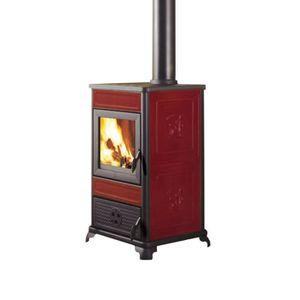 POÊLE À BOIS Poêle à bois 8,5 kW en fonte céramique 434410