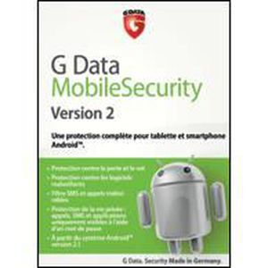 ANTIVIRUS À TELECHARGER G Data MobileSecurity Version 2