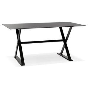 TABLE À MANGER SEULE Bureau table rectangulaire en Métal thermolaqué no