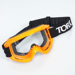 LUNETTES - MASQUE Lunette masque TORX orange fluo néon casque moto c