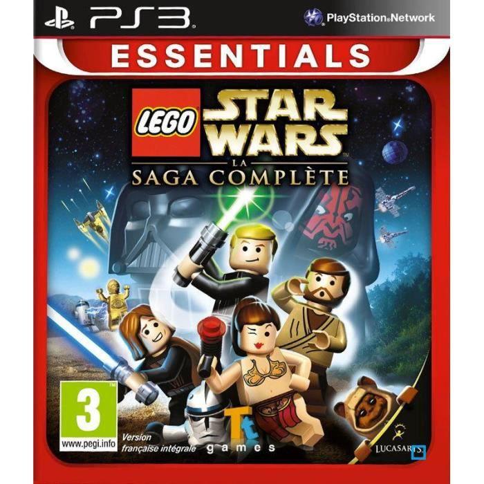 JEU PS3 LEGO Star Wars: Complete Saga Jeu PS3