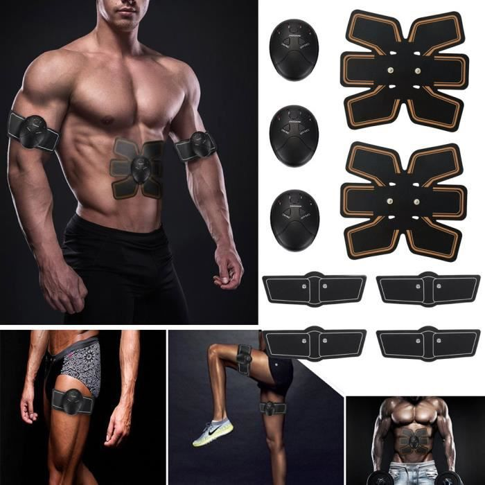 Magic EMS Muscle Training Gear ABS Trainer Fit Body Home Exercise Shape Fitness QXH80227084_Lavi